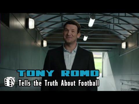 Tony Romo Tells the Truth about Football