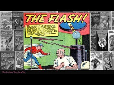 "Flash: ""The Man Who Harnessed The Sun"", Flash Comics vol 1 #29"
