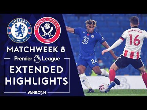 Chelsea v. Sheffield United | PREMIER LEAGUE HIGHLIGHTS | 11/7/2020 | NBC Sports
