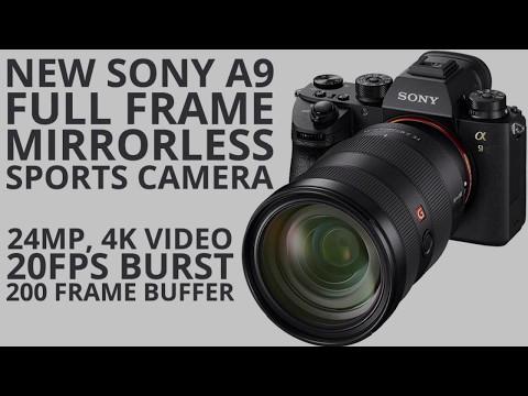 Spesifikasi Kamera Sony a9 24 MP Kamera Terbaru 2017