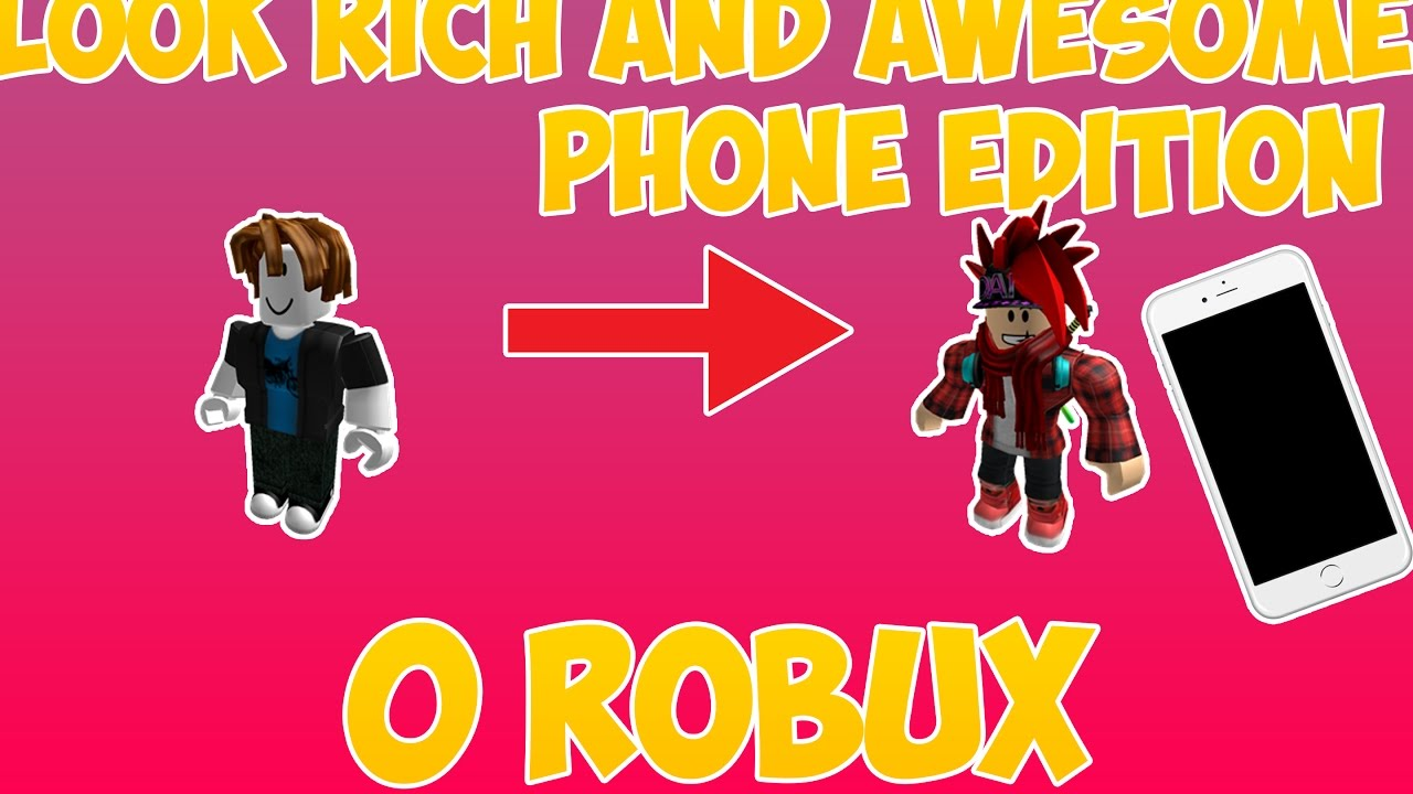 How To Be Rich In Roblox Without Robux - Roblox How To Look Richlike Pro People Android And Ios
