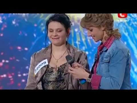 Украина мае талант 2  Харьков  Елена Ковтун