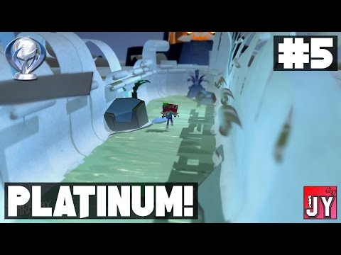 [100%] Chapter 5 - Grocer's Barn! ~ Road to Platinum! [PS4] Tearaway Unfolded