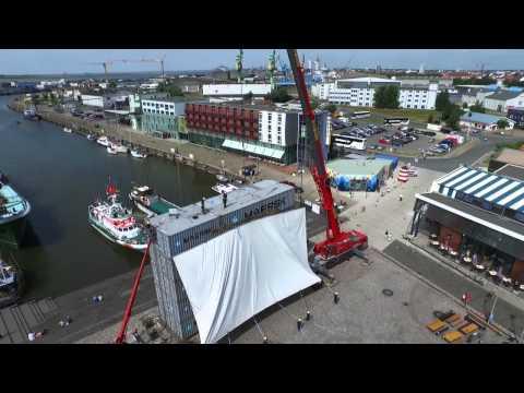 Filmdrohne - 20 Jahre Kino im Hafen - Bremerhaven