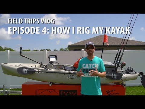 How to Rig your Kayak for Fishing & Filming | #FieldTrips VL