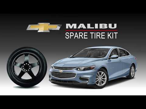2016-2019 Malibu Complete Spare Tire Kit - All Trims - Modern Spare