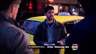 Supernatural season 8 episode 19 CHCH TV promo -  Taxi Driver
