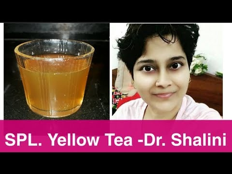 Dr Shalini S Yellow Tea With A Twist I Already Lost 2kgs Instant Weight Inch Loss Youtube