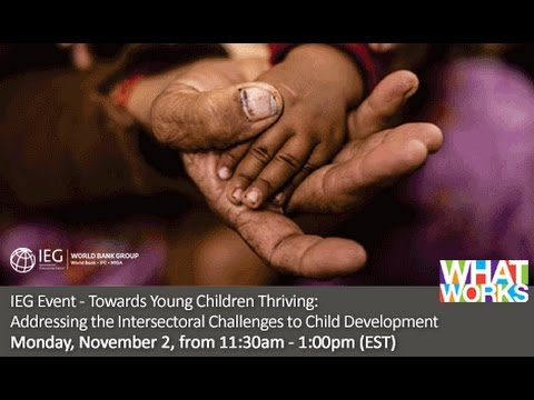 Towards Young Children Thriving: Addressing the Intersectoral Challenges to Child Development