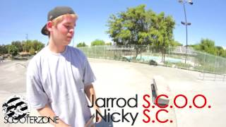 Scooter Zone Scoot Game 8 Jarrod Bruns Vs Nicky Martinez