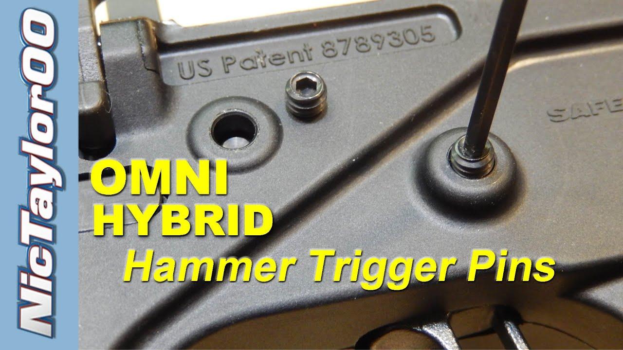 OMNI Hybrid Polymer Lower Hammer / Trigger Pins