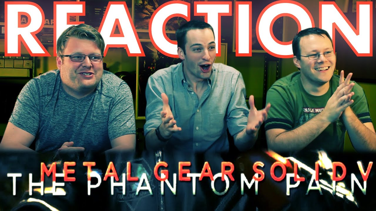 Download Metal Gear Solid V Launch Trailer REACTION!!