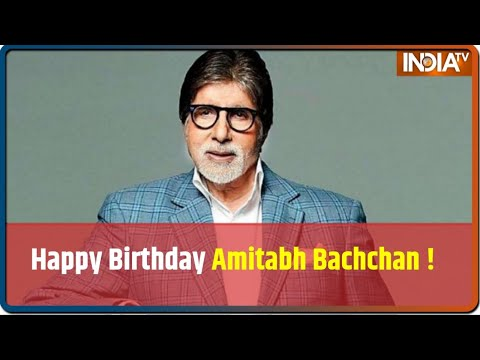 Happy Birthday! Amitabh Bachchan Turns 77 Today Mp3