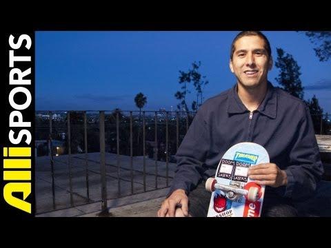 Omar Salazar's Alien Workshop Skateboard Setup, Alli Sports