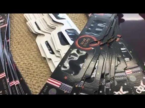 Eudora School District given counterfeit eclipse glasses