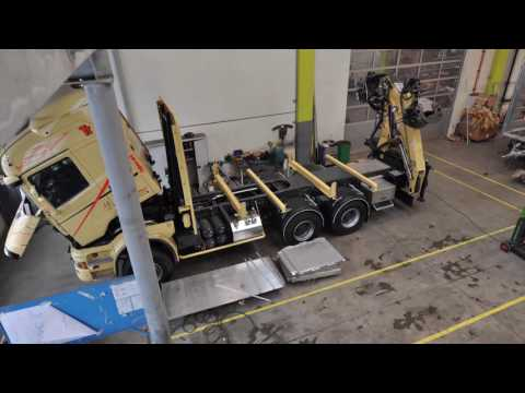 Как происходит установка крана-манипулятора Аллюр-Агро
