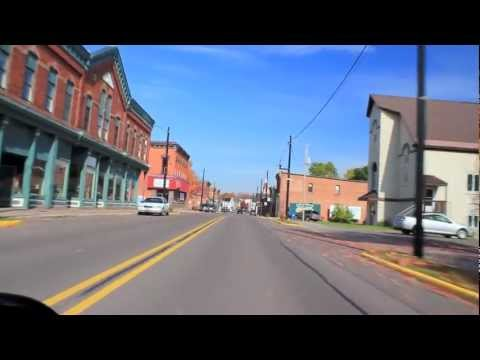Lake Linden Michigan From A Honda Ruckus Youtube