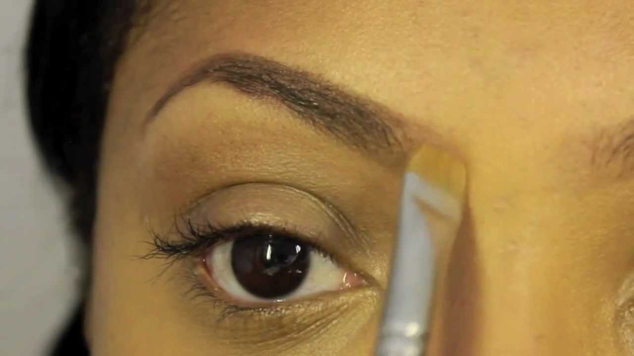 Tutorial How To Fill In Eyebrows Youtube