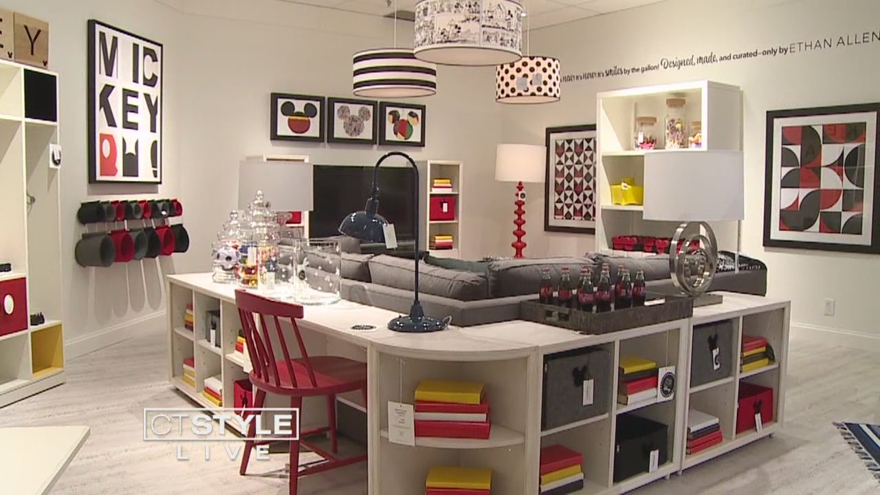 Ethan Allen Launches New Disney Line of Furniture and ...