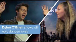 Dylan O'Brien shows off epic dancemoves