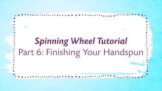 Spinning class wheel yarn