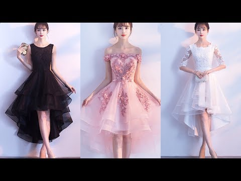 black-prom-dresses pink-bridesmaid-dresses white-graduationi-dresses high-low-dresses