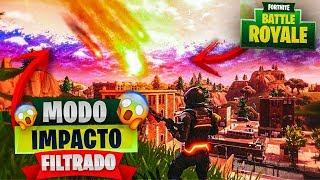 """""""NUEVO MODO"""" IMPACTO del METEORITO FILTRADO en FORTNITE: Battle Royale! - ⛔LA VERDAD DEL METEORITO⛔"""