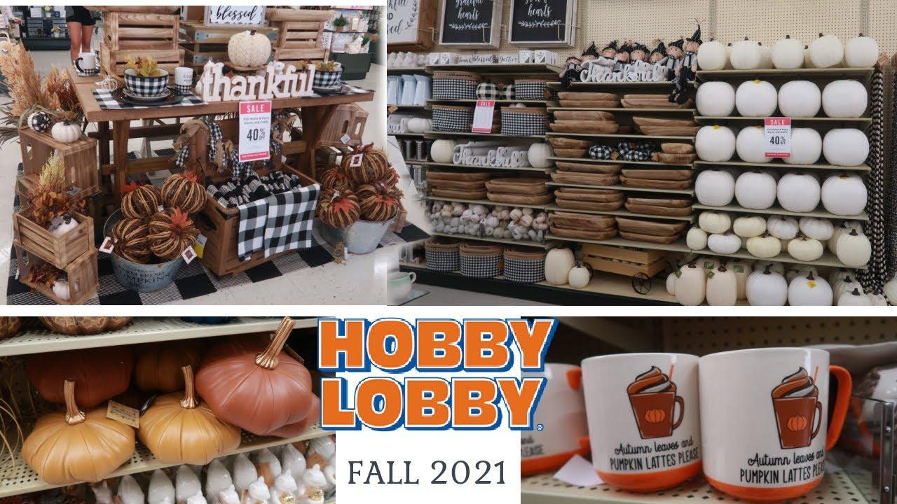 HOBBY LOBBY * FALL DECOR 2021