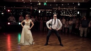 It was a touching father-daughter dance, until mc hammer's 'can't touch this' came on. mikayla ellison phillips her dad, nathan, had the idea for non-tradi...