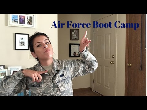 Air Force Boot Camp | It's not as scary as you think
