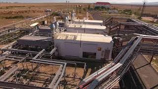 Установка компримирования и подготовки газа