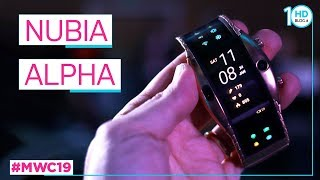 NUBIA ALPHA: lo smartphone da POLSO con display FLESSIBILE