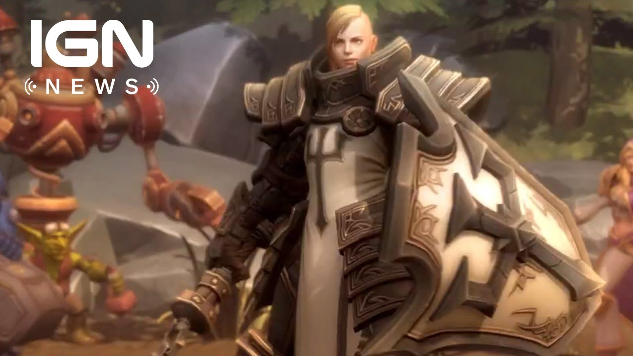 Diablo 3's Crusader Coming to Heroes of the Storm - IGN ...