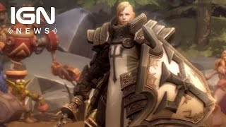 Diablo 3's Crusader Coming to Heroes of the Storm - IGN News