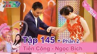 hanh phuc cua cap vo chong nen duyen nho facebook  tien cong - ngoc bich  vcs 145
