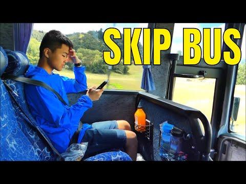 Skip Bus, Cheap North Island Bus Rides, New Zealand