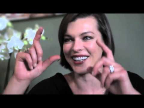 Milla Jovovich holidays interview