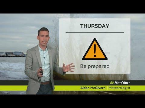 Wednesday evening forecast 06/12/17