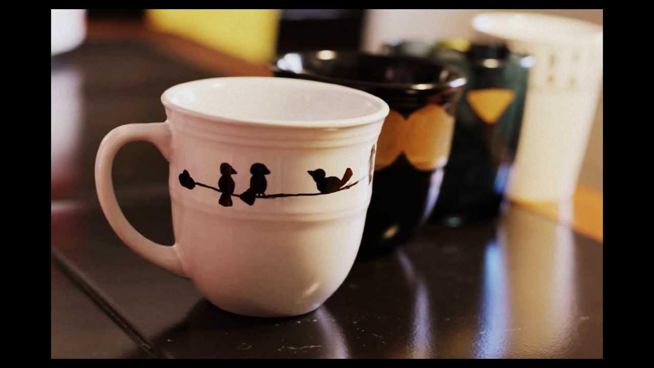 Como decorar una taza con un sharpie youtube - Como decorar una buhardilla ...