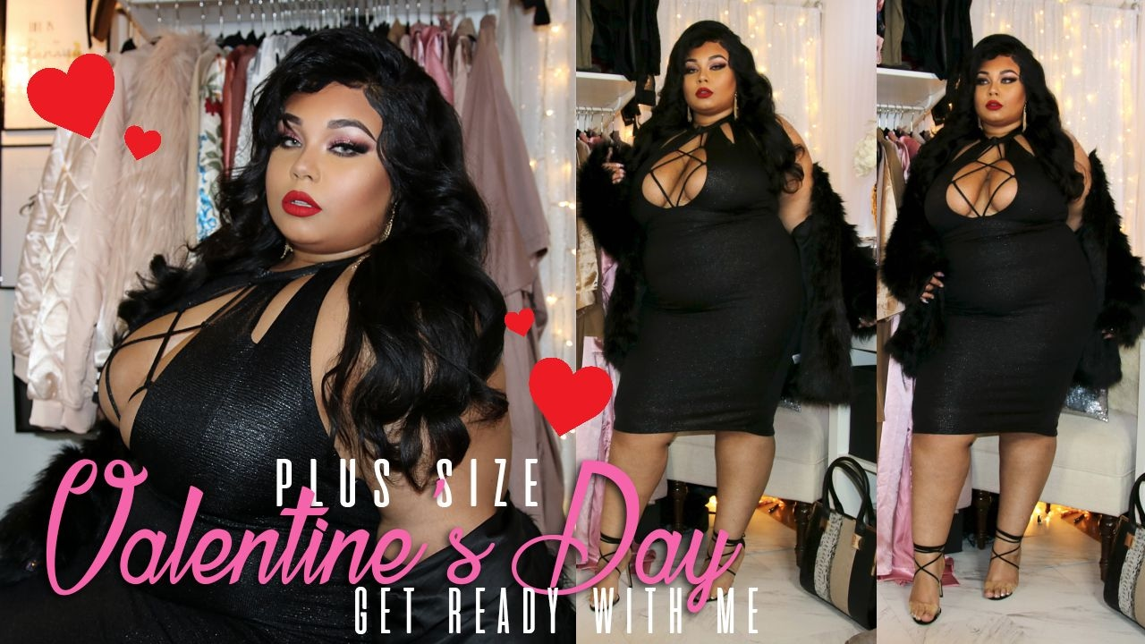 Sexy Plus Size Valentine S Day Grwm Fashion Nova Ootd Youtube