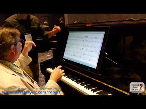 PNOScan - Piano Marvel - Midi Based Learning Software - NAMM 2014