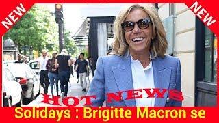 Solidays : Brigitte Macron se rend sur place pour les 20 ans du festival