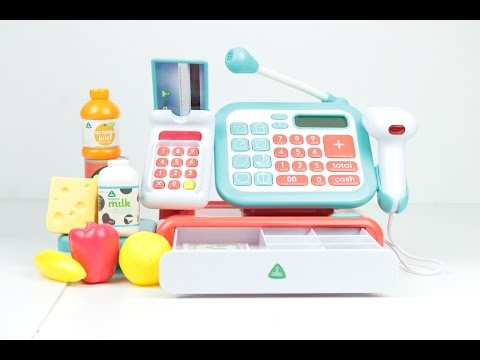 Toy shop cash register Early Learning Centre unboxing