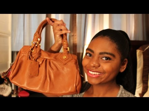 9b7b5571bd32 Review: Marc By Marc Jacobs Classic Q Baby Groovee Satchel - YouTube