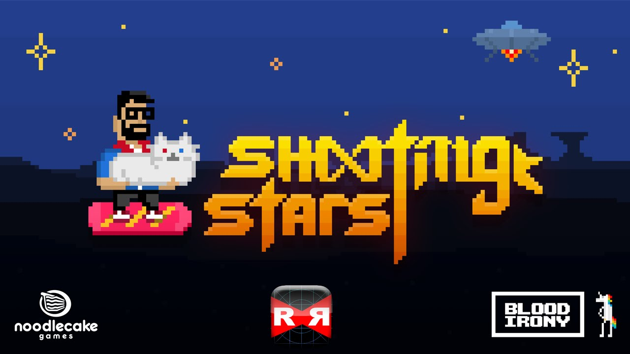 shooting stars by noodlecake studios ios android gameplay