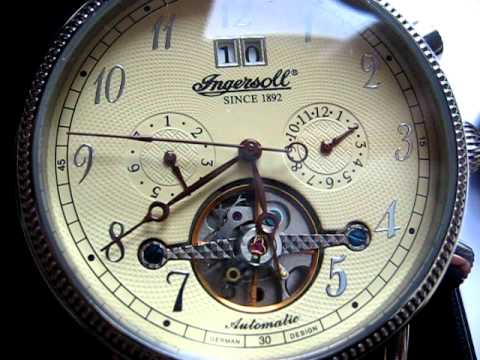 Ingersoll 1892 Automatic In1800 Jk Limited Edition 35 Jewels Watch ... aa82327c95