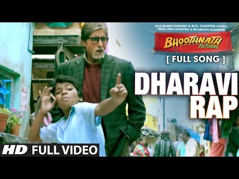Dharavi Rap Full Video Song l Bhoothnath Returns l Amitabh Bachchan