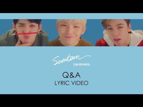 [LYRIC VIDEO] SEVENTEEN (S.COUPS, WOOZI & VERNON) X AILEE - Q&A (Sub Español)