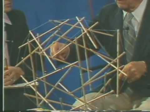 Buckminster Fuller on Tensegrity Structures