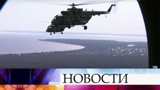 В Ленинградской области военные летчики начали готовиться к параду 9 мая в Сантк-Петербурге.